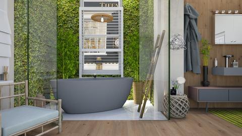 BambO_o interior  - Bathroom - by intdeson
