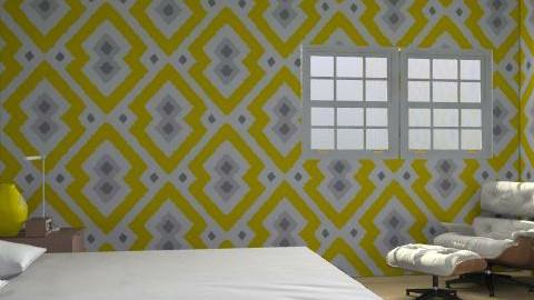 yellow! - Retro - Bedroom - by Ramel
