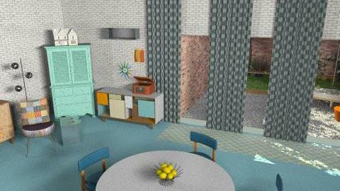 brooklyns house2 - Retro - Kitchen - by kadee1111