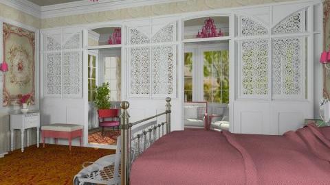 Emilie Bedroom - Classic - Bedroom - by Bibiche