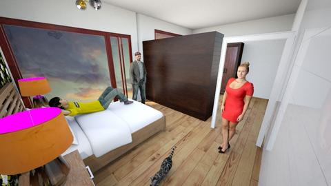 miegamasis 12 wide 1 - Bedroom - by Dennkka