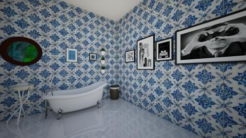 VintageArtBathroom bath - Vintage - Bathroom - by yaizalloriginal