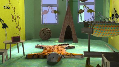 JUNGLE - Kids room - by manar