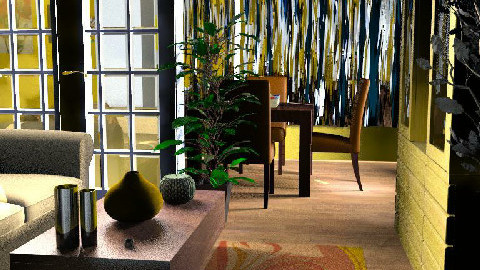MERY'S HOME - Dining Room - by maumau