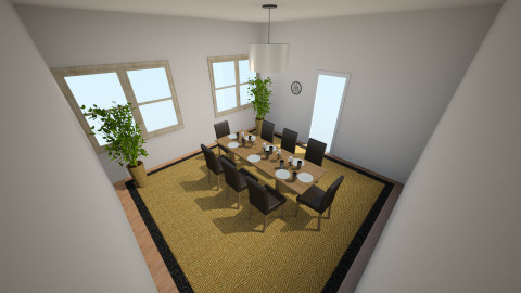 Dining Room - Modern - Dining room - by Abi Patterson