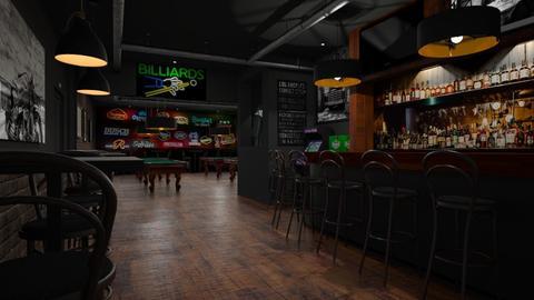 Billiards Pub - by GraceKathryn