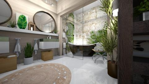 jungle - Bathroom - by ana111