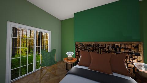 Green  - Bedroom - by hannah25