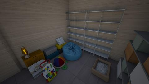 Storage Room - Modern - by saltyfries27