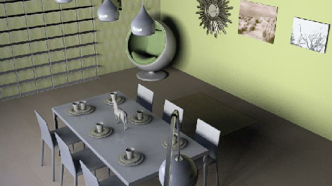 Eco Inspirtaion  - Dining Room - by pixiedust000