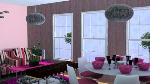 Grand Designs 'Dine in Pink' 2 - by Nikki Wilkes