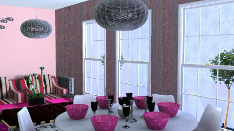 Grand Designs 'Dine in Pink' 3 - by Nikki Wilkes