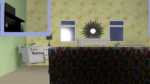 rosie's retro room - Retro - Bedroom - by princessfi