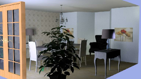 A dining room - Dining Room - by mariannap