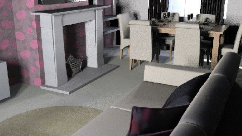 living room/dinner - Dining Room - by digglesplash