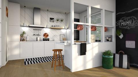 White Kitchen - by sara andrade