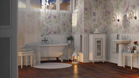 Shabby Chic Bathroom - Bathroom - by GraceKathryn