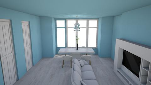 Template Baywindow Room - Classic - Living room - by camila1234567