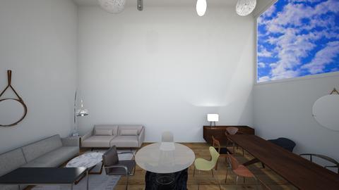 parte baja escaleras cris - Dining room - by EYSB