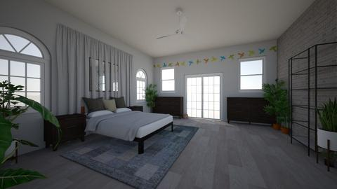unfinished beedroom - Modern - Bedroom - by bethnay A