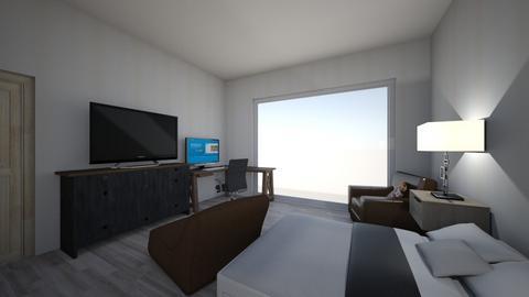Contemp bedroom - Bedroom - by Halfway