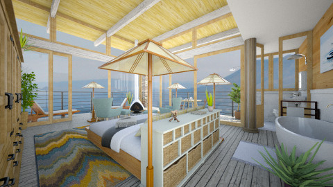 Big Sur Master Suite - Modern - Bedroom - by russ