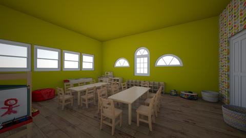 Forest Friends - Kids room - by NUVGCEWNHWGUUCAEECUMEBPDBBUWBZE