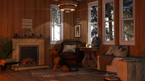 Overdimensional  - Living room - by Twilight Tiger