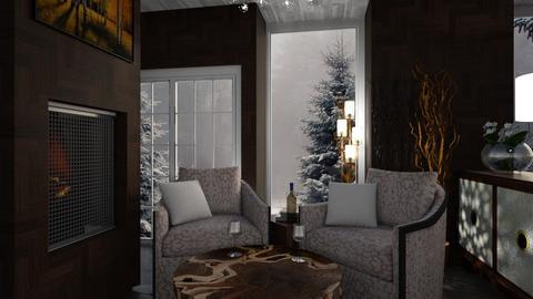 snow - Living room - by zsjv1989gmailcom