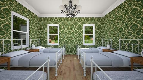 Orphanage Dormitory - Kids room - by SammyJPili