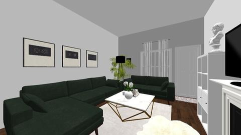 green_velvet - Living room - by cdarrach
