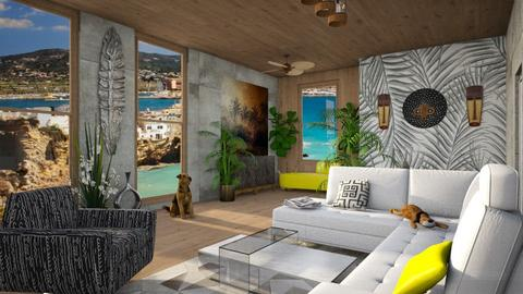 ARTISAN FLOORING template - Living room - by yulamalina
