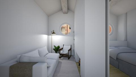 Casa222LivingArea - Minimal - Living room - by nickynunes