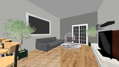 1 VERSION - Living room - by Cristinakiki