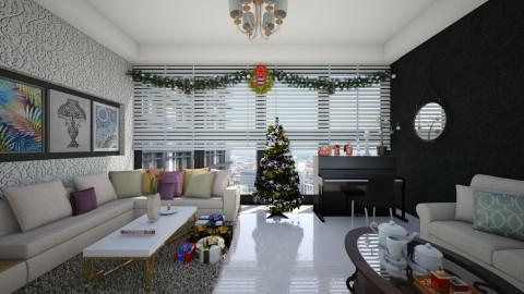 Cristmas Festive - Minimal - Living room - by Veny Mully