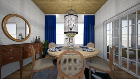 farmhouse dining - Dining room - by TColl3
