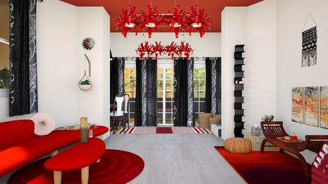 blackred - Living room - by straley123456