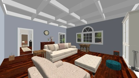 Great Room - Eclectic - Living room - by k8manion