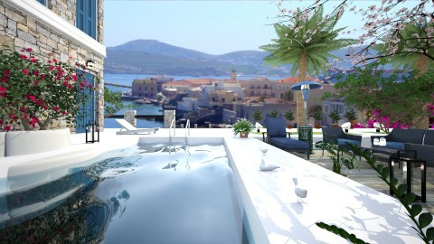 Garden Terrace - by ritsa