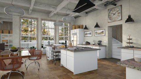 Open Kitchen - Global - Kitchen - by evahassing