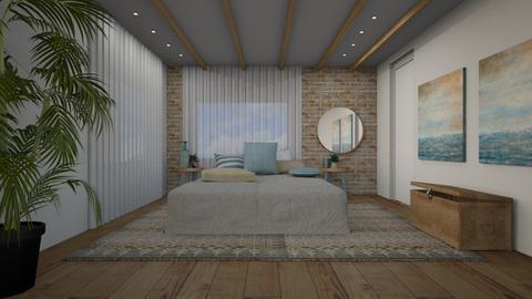 378 1 - Bedroom - by Riki Bahar Elbaz