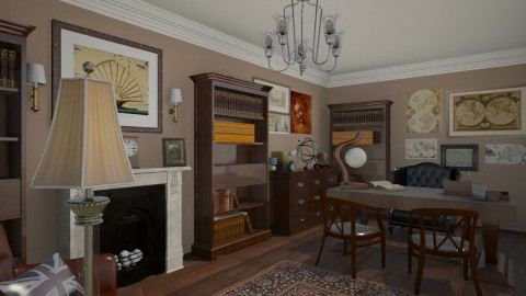old office - Classic - Office - by radmilad7