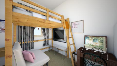 my room - Modern - Bedroom - by karolann1005