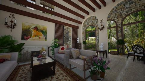 Santa Barbara feeling - Living room - by norcska
