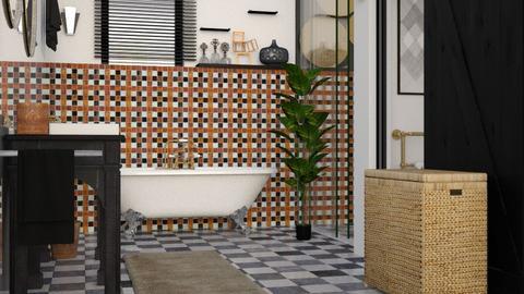 eclectic bathroom - Bathroom - by elyssaumber