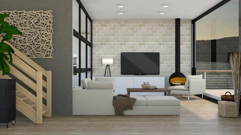 Modern Home - Living room - by KimAlys