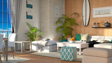 Surf Living - Modern - Living room - by millerfam