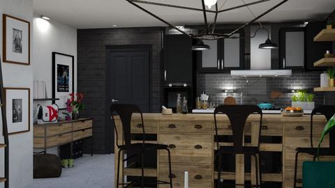 Downtown Minn kitchen - Kitchen - by carvellak