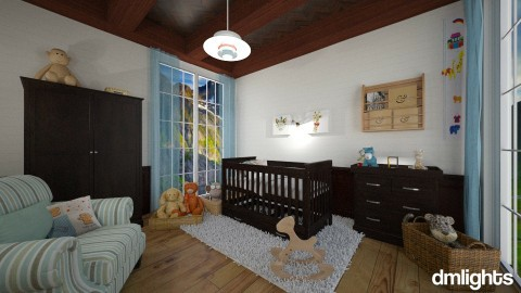 Quarto baby Rustico - Bedroom - by Roberta Bela