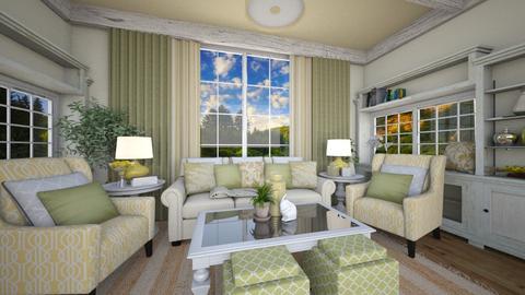 Spring Fling - Living room - by NiceGoodNoodle
